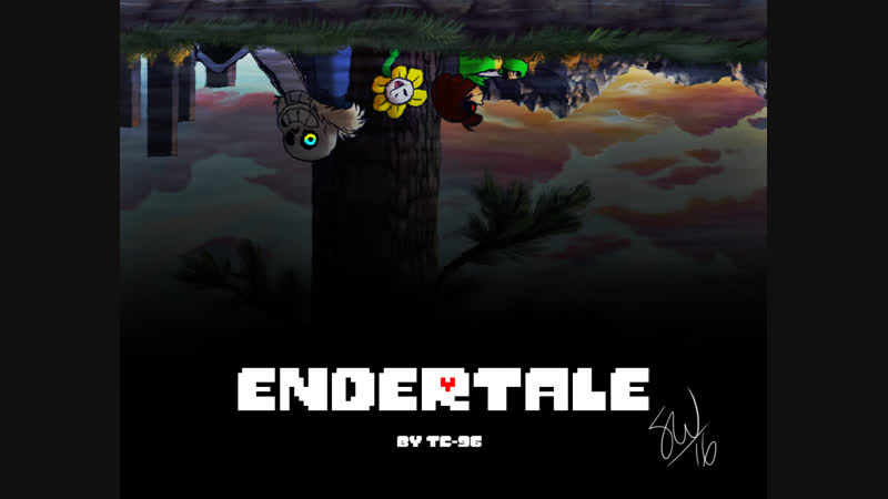 [Undertale Comic] E N D E R T A L E - Prologue ( 2)