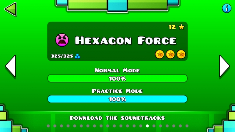 GeometryDash Hexagon Force