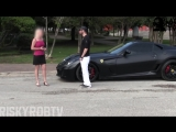 ИНСТА-ШКУРА ПОВЕЛАСЬ НА FERRARI 599 GTO И БЫЛА НАКАЗАНА