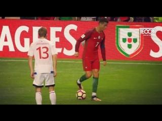 Финты и обводки криштиану роналду за сборную португалии