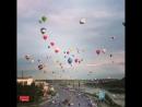 Парад воздушных шаров над Каунасом