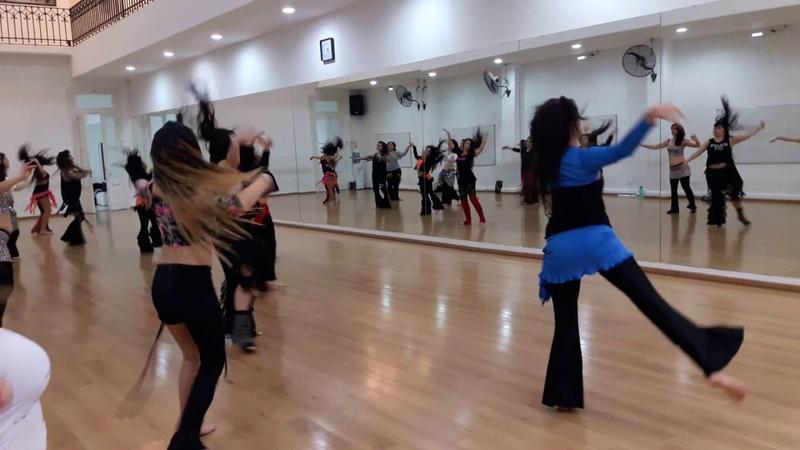 Darbuka Dance Workshop 2017 Sabrina Colman Baladi Awal Raffi Avakian