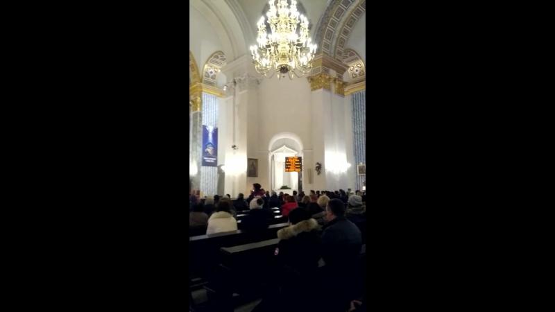 Католицьке Різдво у Костелі