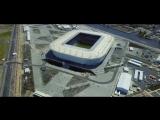 35 тысяч человек на стадионе «Калининград» – вид сверху