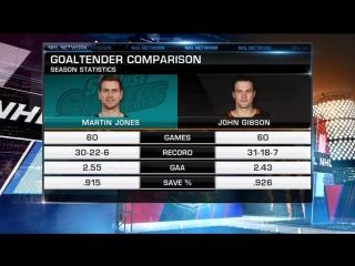 NHL Tonight: Sharks vs. Ducks Preview Apr 8, 2018