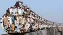 As estradas de ferro mais perigosas e extremas do mundo Compilação viagens de trem incríveis