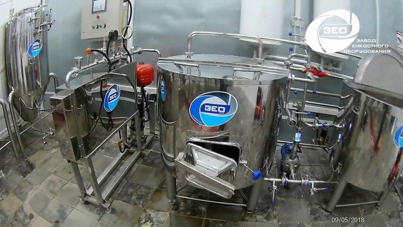 Пивоваренный завод на 200 литров за варку