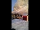Пожар в городе бийск