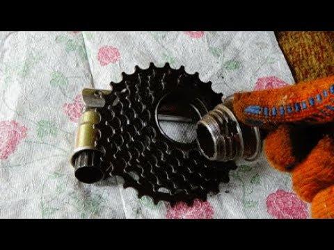 Велосипед Трещетки касета как снять ремонт Bicycle