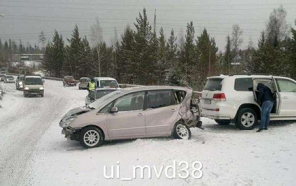 ДТП 05.11.2018 на Усть-Илимском шоссе