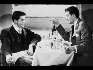 Незнакомцы в поезде 1951 / Strangers on a Train / реж. Альфред Хичкок / фильм-нуар, триллер, криминал