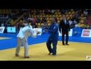 SENIOR EUROPEAN JUDO CUP BRATISLAVA final 66 kg GAFUROV Mirzoiusuf RUS BALKAROV Alim RUS