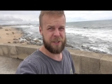 Разбили СТЕКЛО! На машине в Португалию, часть 3. Назаре, Кабо Да Рока