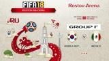 FIFA 18 Чемпионат Мира Группа F Республика Корея - Мексика Симуляция