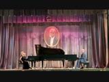 Н. Римский-Корсаков - Полёт шмеля - Басиния Шульман и Александр Гиндин