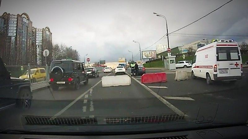 На этом перекрёстке инспекторы ДПС вынуждают вас нарушать ПДД