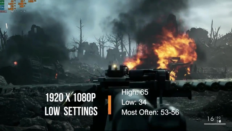 [Stock SpeedTech] i5 2400 GT 1030 2GB Playing Modern Games - 1080p Low Settings