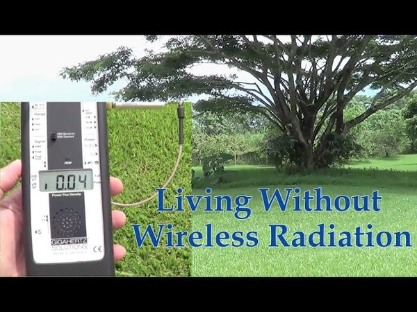 Wireless Radiation WiFi Radiation - It's Possible to Live Without It!