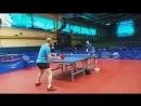 тренировка с Женей Бархатовым Игра по защите слева и справа