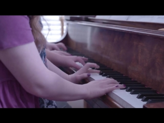 How Far Ill Go (Moana) - Special Piano Trio for Down Syndrome Awareness - from Jason Lyle Black