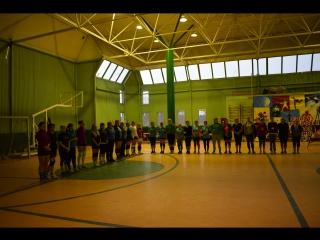 Новогодний турнир по волейболу среди женских команд  в п.Вознесенье