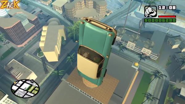 Баг на летающий транспорт в GTA SAN ANDREAS Об этом вы точно не знали
