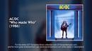 AC/DC - Who Made Who (1986) [FULL ALBUM]