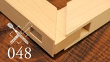 Joint Venture Ep. 48 Through mortise and tenon with mitered faces (Japanese Joinery)