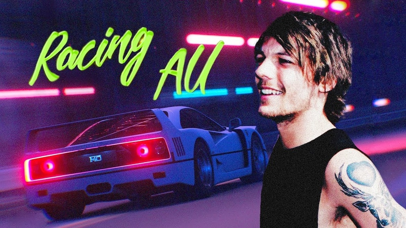 Louis Harry - Cheap thrills [Racing!AU; 3]