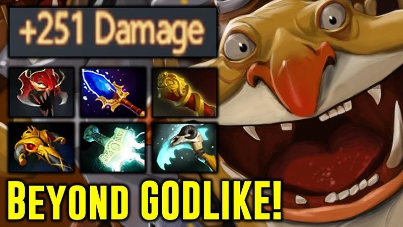 TOP TECHIES Player 251 Damage BEYOND GODLIKE Highlights Dota 2