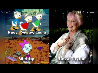 DuckTales the Movie. Treasure of the Lost Lamp (1990) Voice Actors Cast and Characters