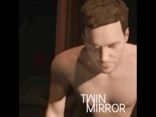 Twin Mirror – Pull yourself together, drinking and moping...