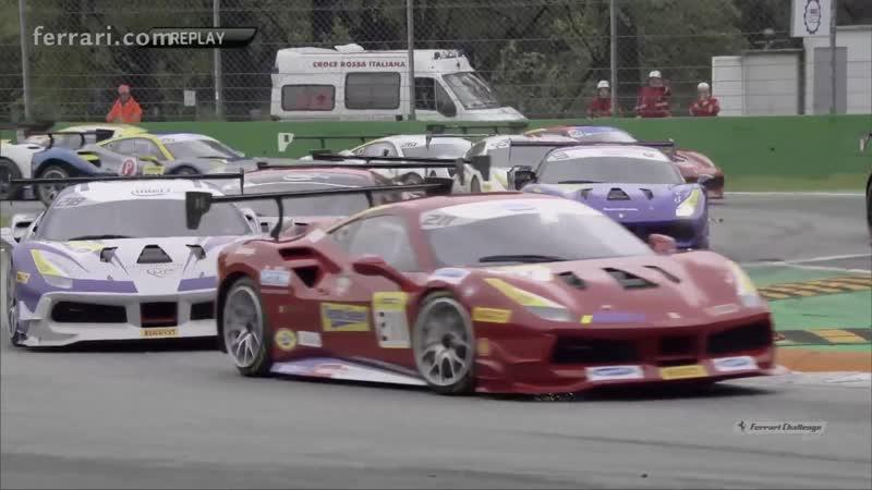 Ferrari Challenge NA 2018. Finali Mondiali - Первая гонка