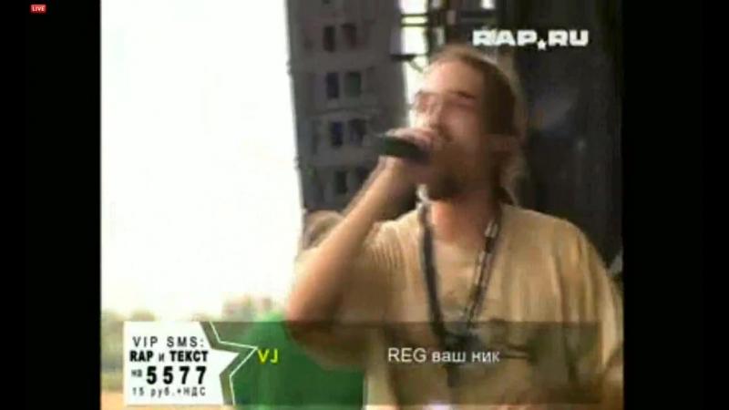 2011.03.09 - IQ Leo Dee - live (TV) (Фестиваль M.I.R., Тушинское поле, Москва)