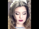 Ксения Саватеева. Свадебный макияж и локоны