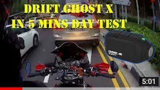 Drift Ghost X Settings 1080HDRP30 5 Min Day Test