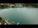 Виды на озеро Блед из замка г. Блед. Словения (15.07.2018)