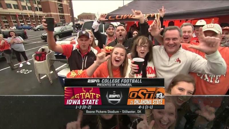 NCAAF 2018 Week 06 Iowa State Cyclones - (25) Oklahoma State Cowboys 1Н EN