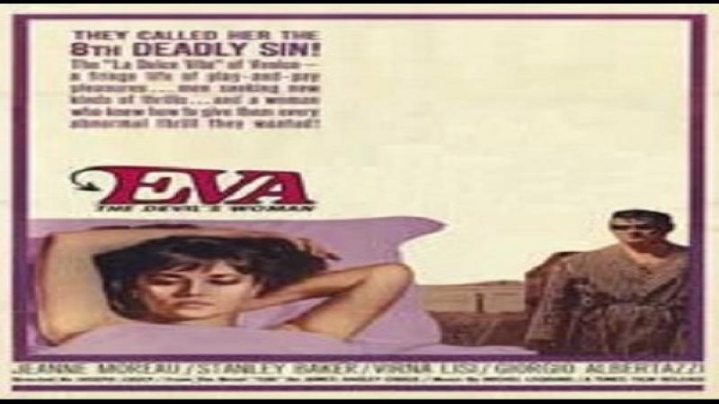 1962 Joseph Losey - Eva - Stanley Baker Virna Lisi, Giorgio Albertazzi,Jeanne Moreau,Lisa Gastoni,,Riccardo Garrone)
