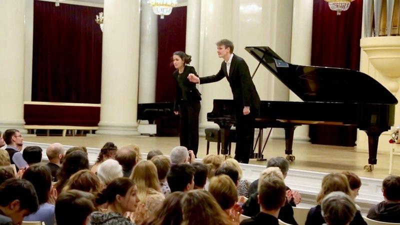 Ian Bostridge and Saskia Giorgini -
