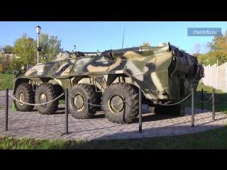 БТР в парке Победы