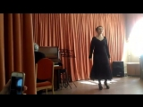 Мексиканская Народная Песня - Чилита. Поет наш любимый педагог по вокалу Светлана Ивановна Вассербаум!!!