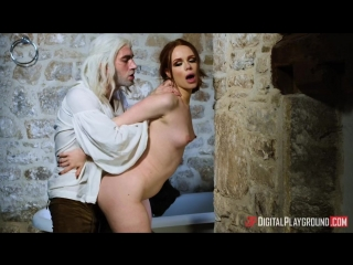 Ella hughes - the bewitcher a dp xxx parody episode one [all sex, hardcore, blowjob, gonzo]
