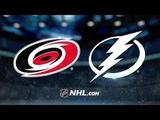Carolina Hurricanes vs Tampa Bay Lightning Oct.16, 2018 Game Highlights NHL 1819 Обзор