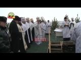 Юлия Чичерина впервые окунулась в крещенскую прорубь!