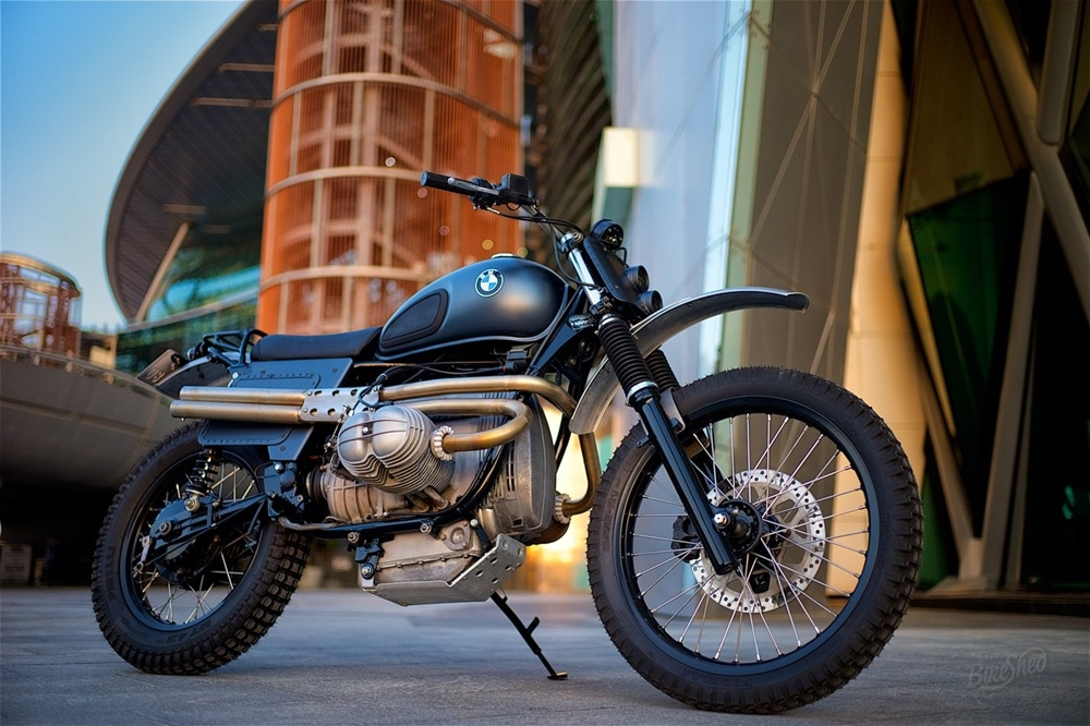 Dust Motorcycles: кастом BMW R80 Dune Basher