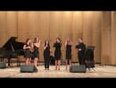 """Magic bossa nova"", ""Jazz Voices"", Gnesin-jazz Voices 2018 -"