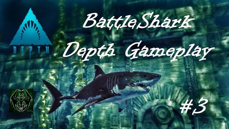 Battleshark! Depth Great White Gameplay!