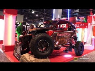 Can Am Maverick X3 XRS 2017 customized by Buggy Whip - Walkarond - 2017 SEMA
