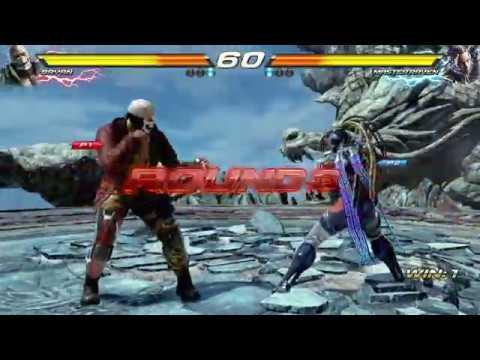 TEKKEN 7 (PS4) Bryan Fury Vs. Master Raven New Character | Dragon's Nest Stage